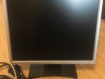 Монитор Benq и клавиатура Microsoft