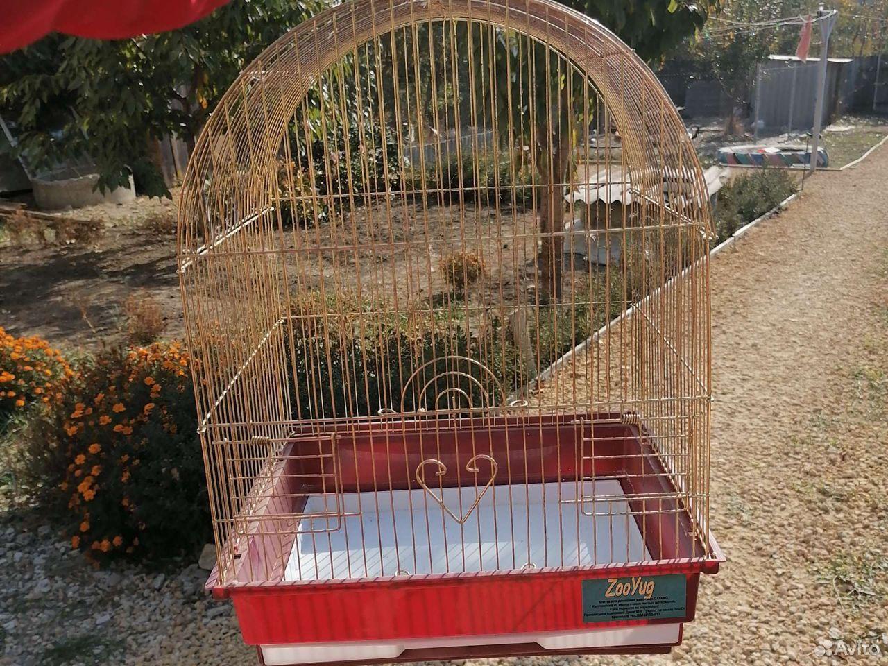 Клетка для среднего попугая  89624054725 купить 1