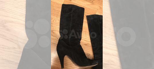 9f1d21086 Сапоги замшевые чёрные Aldo купить в Москве на Avito — Объявления на сайте  Авито