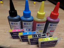 Картриджи и чернила для принтеров epson