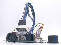 Шим регулятор 10-50v 60A с реверсом и дисплеем