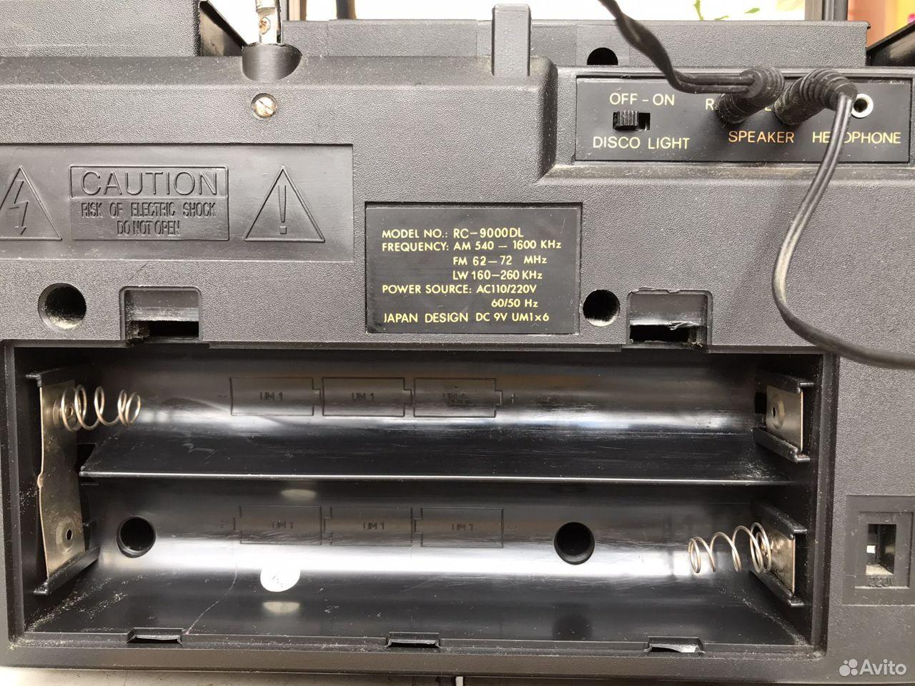 Osaka RC-9000DL магнитофон Япония  89190691000 купить 6