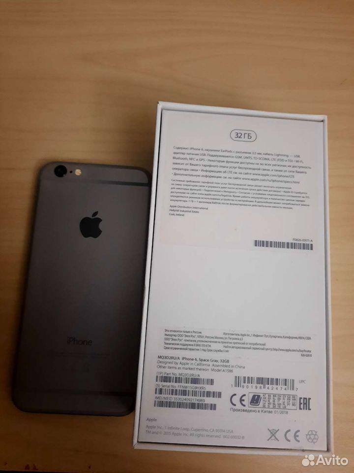 Телефон iPhone 6/32GB  89177515336 купить 2