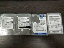 Жесткие диски HDD 2,5 и 3,5